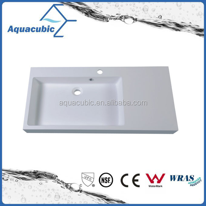 High quality artificial stone bathroom vanity sink(ACB0912)