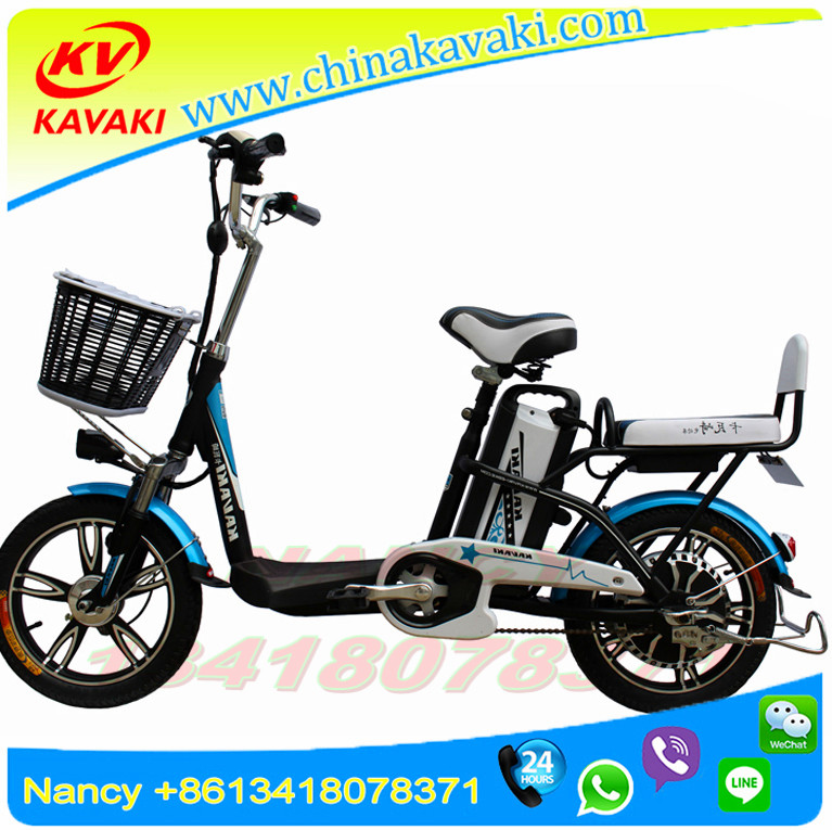 China kavaki 2017 New Products KAVAKI Electric Motorcycle Three Seat Bike E Bicycle