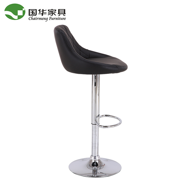 Wholesale Industrial PU cheap used leather bar stool chair