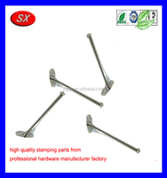 OEM/ODM stamped stainless steel 14 Inch Folding clothes hanging rod Cloth CLOTHES ROD clothes hanging rod