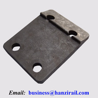 Steel Rail Cast Plates