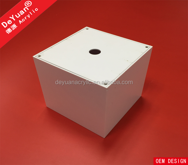 Plastic tissue box / Custom acrylic printed tissue box
