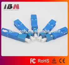 lc to sc male to female optic fiber adapters with 1 year warranty
