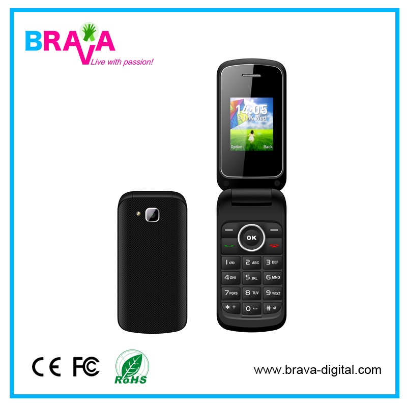 Hot Selling Whatsapp Flip Dual Sim Mobile Phone For Samsung