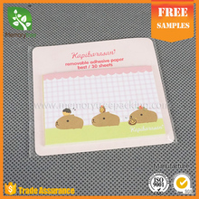 Artwork custom sticky notes Memo pad sticky note memo holder