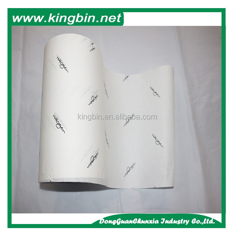 Fashionable custom printed wrapping tissue paper for packaging wrapping paper roll