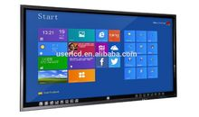 65 inch LED Whiteboard Infrared Interactive TV Touch Screen widely used in school