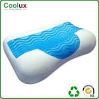Hot sales memory foam chip pillow , designer ergonomic bed pillow