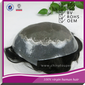 virgin hair toupee