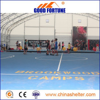 2015 new design large waterproof soccer field shelter