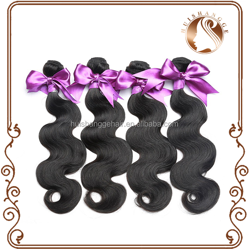 2016 hot selling Virgin Remy Indian Human Hair body wave hair weft extensions