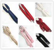 Mixed multi color scarf wholesale new fashion muslim solid shawls big maxi viscose shawl scarf plain hijab