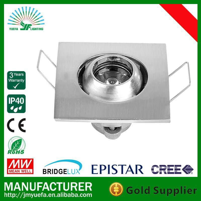 BIG STOCK 1 LITTLE EYE 1W LED DOWN LIGHT, CABINET LIGHT