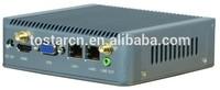 Baytrail J1900 Nano Net Computer 2* rj45 Ethernet USB3.0 Support wifi 3G Mini Quad Core Nano PC