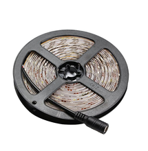 Dimmable LED Light Strip Kit with UL Listed Power Supply, 300 Units SMD 2835 LEDs