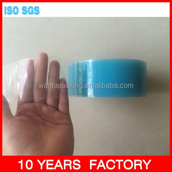 Wanfa LDPE Plastic Adhesive Window Glass Blue Film Protect film