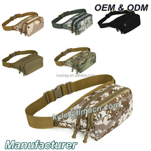 Stylish practical military tactical camouflage waist bag for fishing