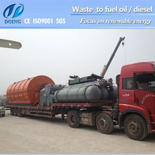 Energy saving black engine oil to diesel oil machine with CE