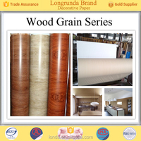 Longrunda wood grain Wholesale Low Price from decor paper for hpl
