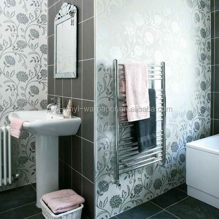 Wholesale 2015 New Waterproof Wallpaper For Bathrooms