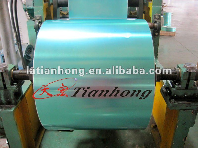aluminium tape for telephone cables(ethylene copolymer+aluminum+ethylene copolymer)