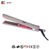 High quality Titanium plate MCH heater personalized hair straightener with diamond crystal ionic hair flat iron hair styler