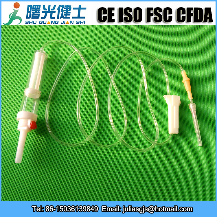 Medical disposable blood transfusion equipment, blood transfusion set