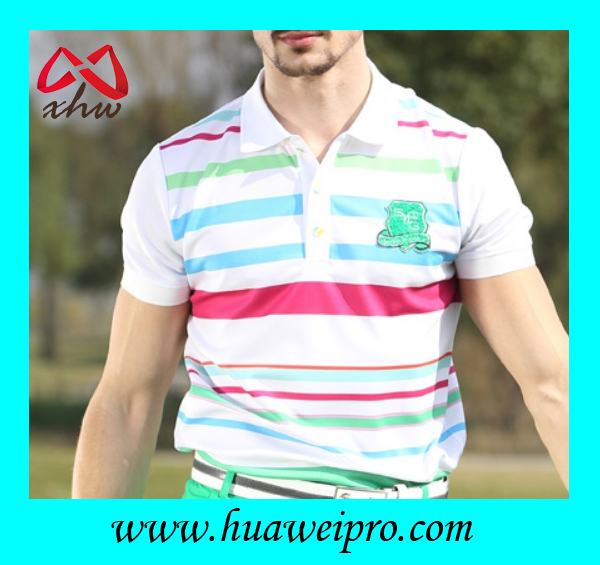 Top quality golf clothing custom made fashion gentleman for Best custom made dress shirts online