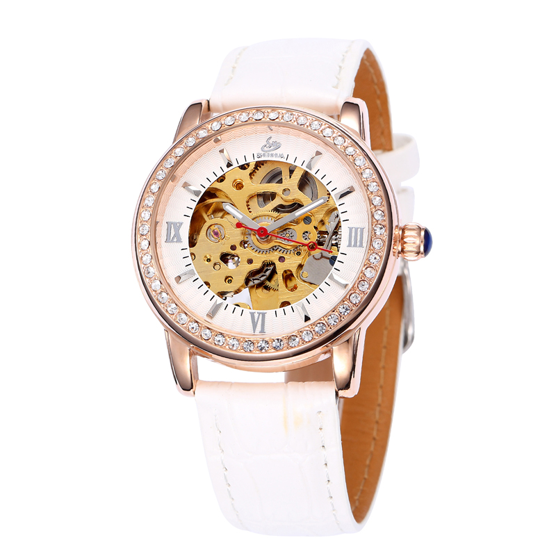 Women Luxury Leather Strap Watches