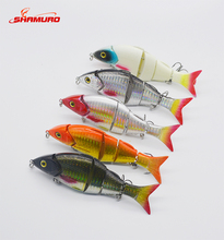 "wholesale 5"" Multi Jointed Fishing Lure ike Minnow Bass Plastic Bait hard lure New Sea"