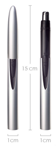 MB-051 big discount electric mini nose ear hair trimmer with sharpe blades