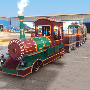 kids electric amusement rides trackless tourist train