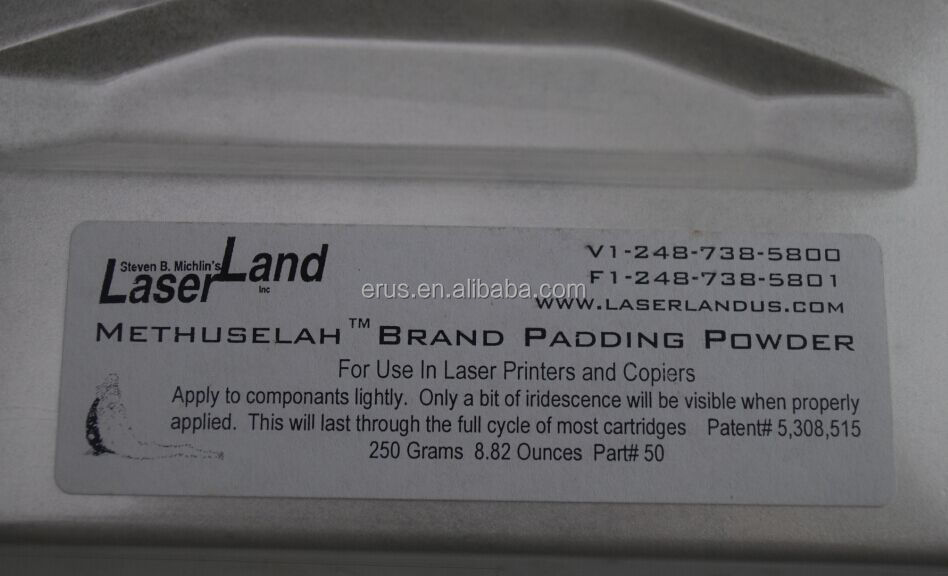 For Methuselah brand drum padding powder opc Lubricating powder 250G