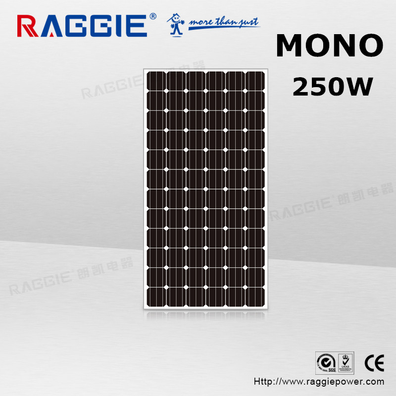 Good Quality Factory Derect Sale Solar Panel 250W Molycrystalline For Roof Tiles