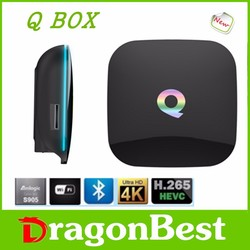2016 New Arrival H.264 H.265 Ott Tv Box Wireless Keyboard For Android Tv Box Hi-Q Amlogic S905 Tv Box