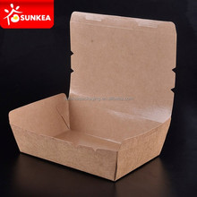 disposable craft paper fast food box