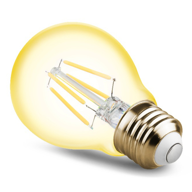 Shenzhen led lighting filament bulb a19 7w led residential lamps e26 e27