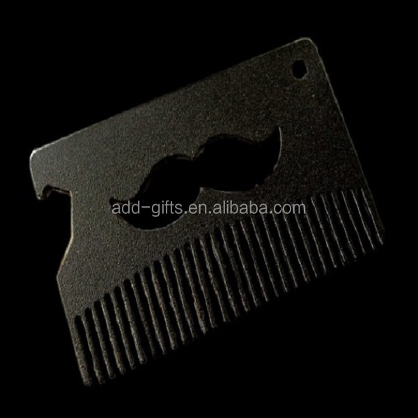 Metal Beard Comb/ Custom,Personalized Comb,Mustache,Hairbrush,Engraved Gift for Boyfriend