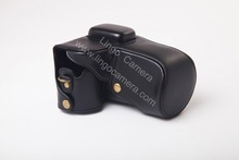 CC1204 PU Leather Camera Case Bag for Samsung NX300 Digital Camera