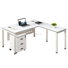 2016 Newest Design Top Quality Office Furniture Modern L Shaped Luxury Boss Executive Desk