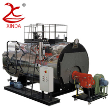 Automatic Clean Oil Gas Fired High Temperature Steam Boiler for Pharmacy Production Line