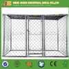 Easily assembled Chain link Outdoor Dog kennels