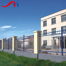 Metal spear points/double circle wrought iron fence supplier(China Factory&Manufacturer)