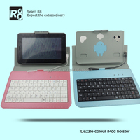 7 inch Tablet PC Leather Keyboard Case,7 inch Tablet PC with USB port