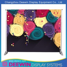 Top Quality Stretch Tube Tension Fabric Display For Large-scale Show