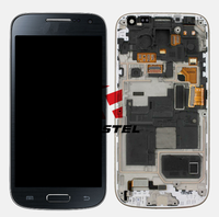 High quality New Full Complete LCD Display + Touchscreen + frame Digitizer For Samsung I9190 Galaxy S4 mini Galaxy S IV mini