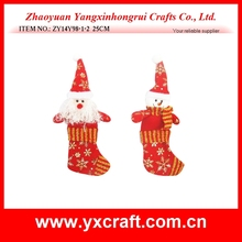 China manufacturers wholesale christmas luxury christmas stockings decor