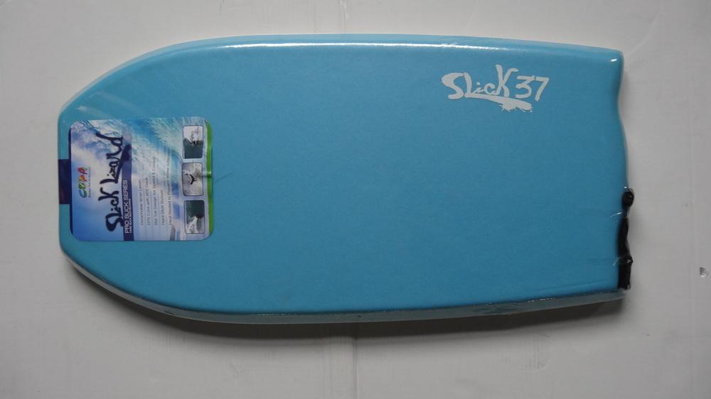 37'' heat sealed pro slick PE bodyboard