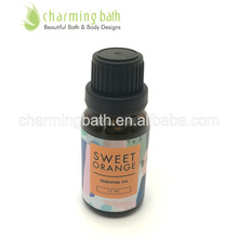 Top selling sweet orange Aromatheropy 15ml natural essential oil 100% pure & aromatheropic skin care