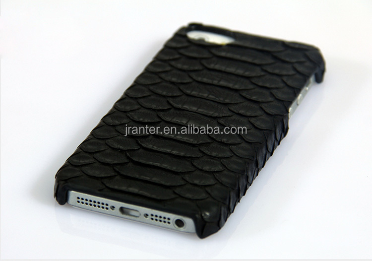 Genuine Python Leather for iPhone Phone Case, Custom Sexy Girls Case for iPhone 5